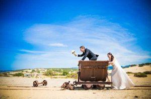 sposi nel carrello
