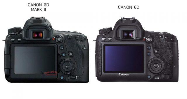 6D MARK II VS 6D FOTO